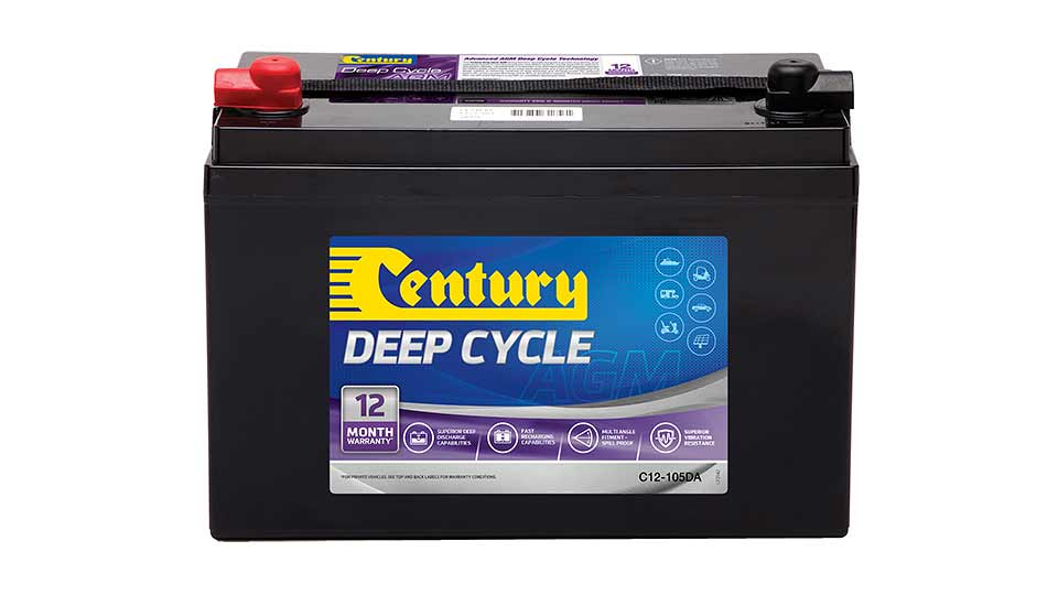 Century 12V 105A Sealed Lead Acid