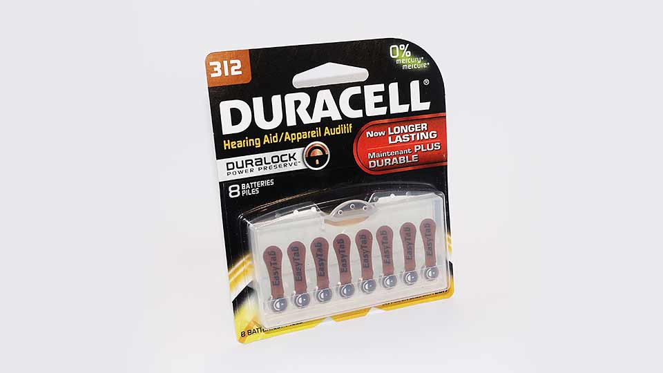Duracell 312 Hearing Aid Battery 8PK