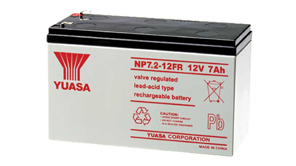 Yuasa 12V 7A (F2) Sealed Lead Acid