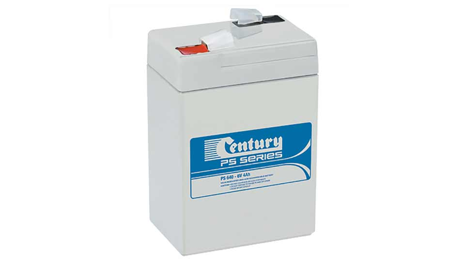 Century 6V 4A Sealed Lead Acid