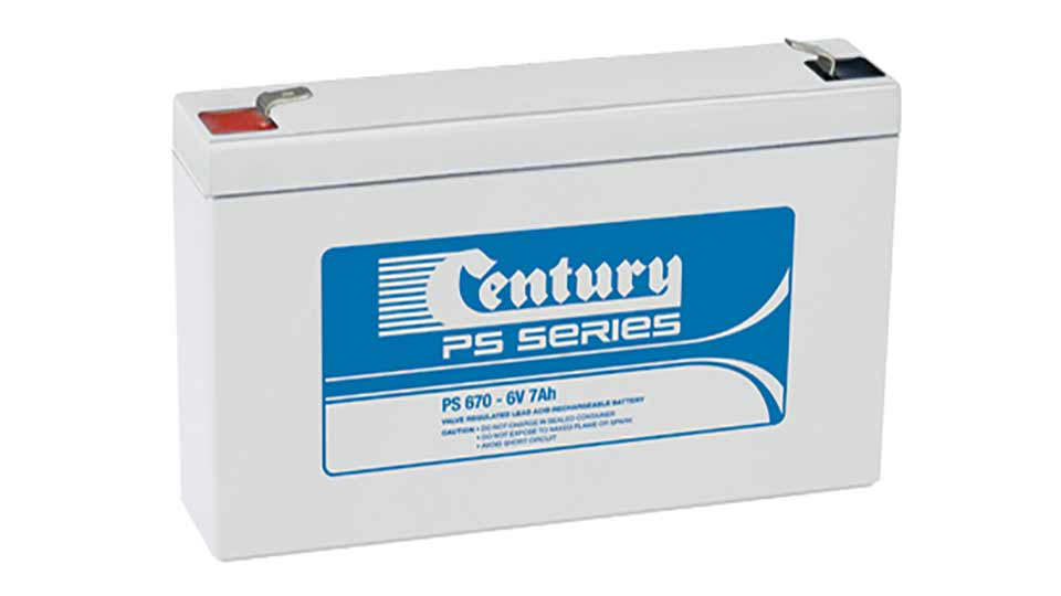 Century 6V 7A Sealed Lead Acid