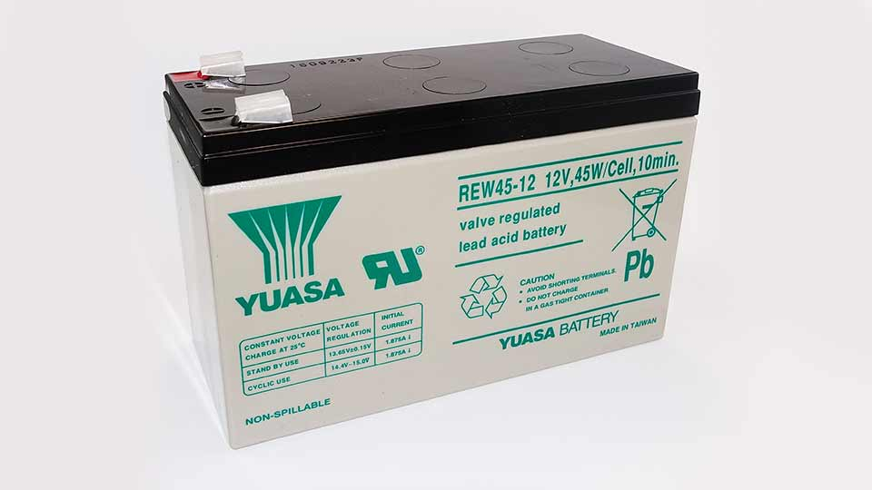 Yuasa 12V 45WPC  Sealed Lead Acid